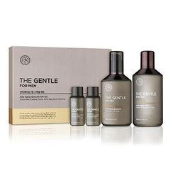 菲诗小铺 - The Gentle For Men Anti-Aging Special Gift Set: Skin 140ml + 32ml + Lotion 130ml + 32ml
