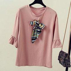 Cloud Nine - Bow Short-Sleeve T-Shirt