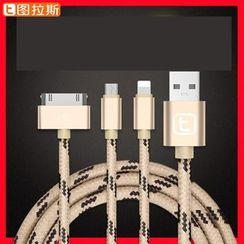 TORRAS - 3-in-1 iPhone Data Cable