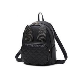 Bluebird - Quilted Faux Leather Backpack
