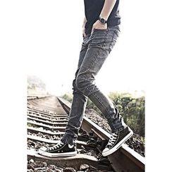 Gurbaks - Elastic Skinny Jeans
