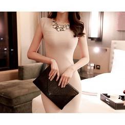 Marlangrouge - Sleeveless Bodycon Dress