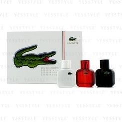 Lacoste - Eau De Lacoste L.12.12 Coffret: Blanc Eau De Toilette Spray 30ml/1oz + Noir Eau De Toilette Spray 30ml/1oz + Rouge Eau De Toilette Spray 30ml/1oz