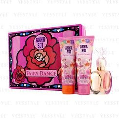 Anna Sui 安娜苏 - Secret Wish Fairy Dance Coffret: Eau De Toilette Spray 50ml/1.7oz + Body Lotion 90ml/3oz + Shower Gel 90ml/3oz