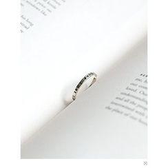 PINKROCKET - Lettering Open Ring