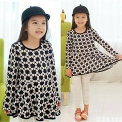 TWINSBILLY - Girls Patterned A-Line Dress