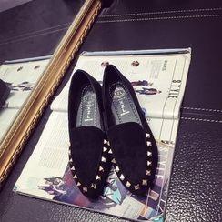 EMIL - Studded Pointed Loafers