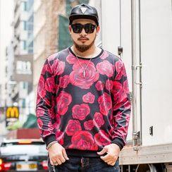 GARBO - Floral Print Sweatshirt