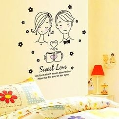 LESIGN - Couple Wall Sticker