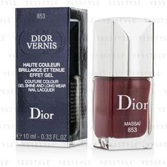Christian Dior - Dior Vernis Couture Colour Gel Shine and Long Wear Nail Lacquer - # 853 Massai