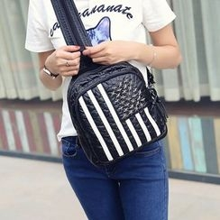 ETUU - Studded Striped Backpack