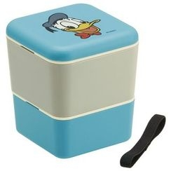Skater - Donald Duck 2 Layer Square Lunch Box