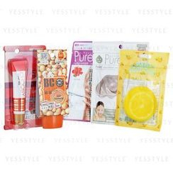 Sun Smile - Pure Smile Beauty Value Set: BC Cream + Liptint + Face Mask + Point Pads + Hand Pack