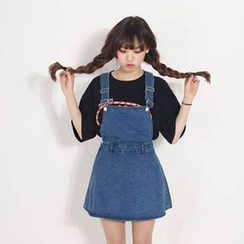 Oaksa - Denim Jumper Skirt