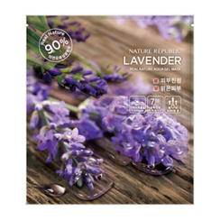 Nature Republic - Real Nature Aqua Gel Mask (Lavender)