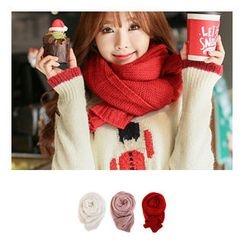 Bongjashop - 長款針織圍巾
