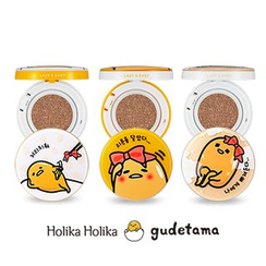 Holika Holika - Photo Ready Cushion BB SPF50+ PA+++ With Refill (Gudetama Lazy & Easy Edition)