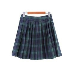 Fairyland - Plaid Pleated Skort