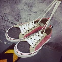 Hipsole - Canvas Panel Sneakers