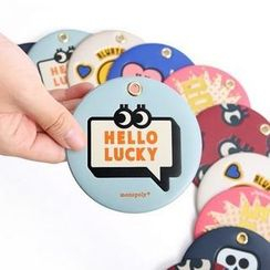 Full House - Printed Luggage Tag