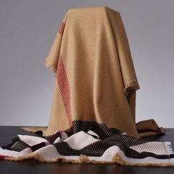 羚羊早安 - 格紋圍巾