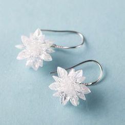 Suaylla - Bridal Flower Drop Earrings