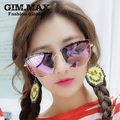 GIMMAX Glasses - Metal Frame Square Sunglasses