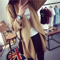 CHERJOE - Open Front Long Cardigan