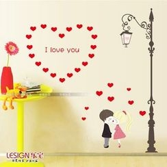 LESIGN - Wall Cartoon Sticker Set