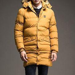 Evzen - Detachable Hooded Padded Coat