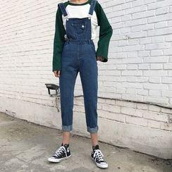 Jolly Club - 背帶牛仔褲