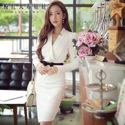 Dabuwawa - Long-Sleeve Sheath Dress