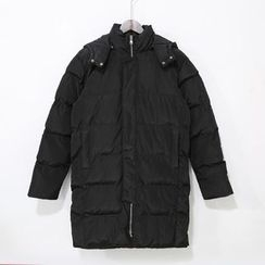 Mr. Cai - Padded Hooded Zip Coat