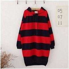 Maymaylu Dreams - Striped Hooded Dress