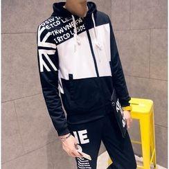 Kieran - Set: Hooded Zip Jacket + Sweatpants