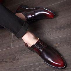 Hipsteria - Pointy Brogue Oxfords