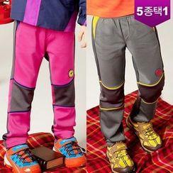 Gymitt Band-Waist Color-Block Pants