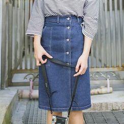 DK Yannie - 牛仔布鉛筆裙