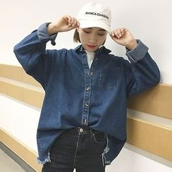 RASA - Oversized Denim Shirt