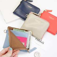 iswas - Faux-Leather Zip Wallet