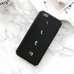 Milk Maid - 月亮印花iphone6/6plus/7/7plus保護套
