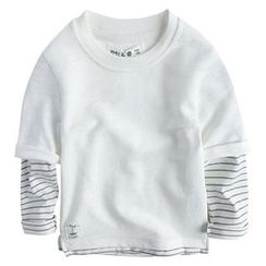 Happy Go Lucky - Kids Mock two Piece Pullover