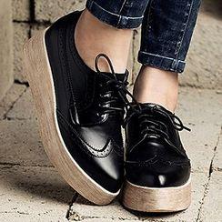 MIAOLV - 厚底牛津鞋