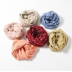Cuckoo - 童裝圓點圍巾