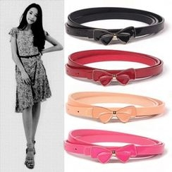 Yist! - Ribbon Accent Slim Belt