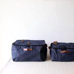 三木青禾 - 牛仔布收纳箱