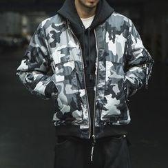 Streetstar - Camo Bomber Jacket