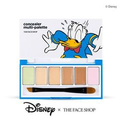 The Face Shop - Disney Donald Duck Concealer Multi-Palette