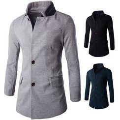 Fireon - Layered Collar Blazer