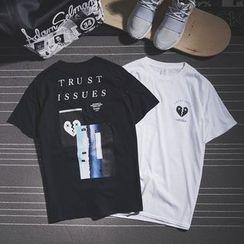 Mr.C studio - Short-Sleeve Print T-Shirt